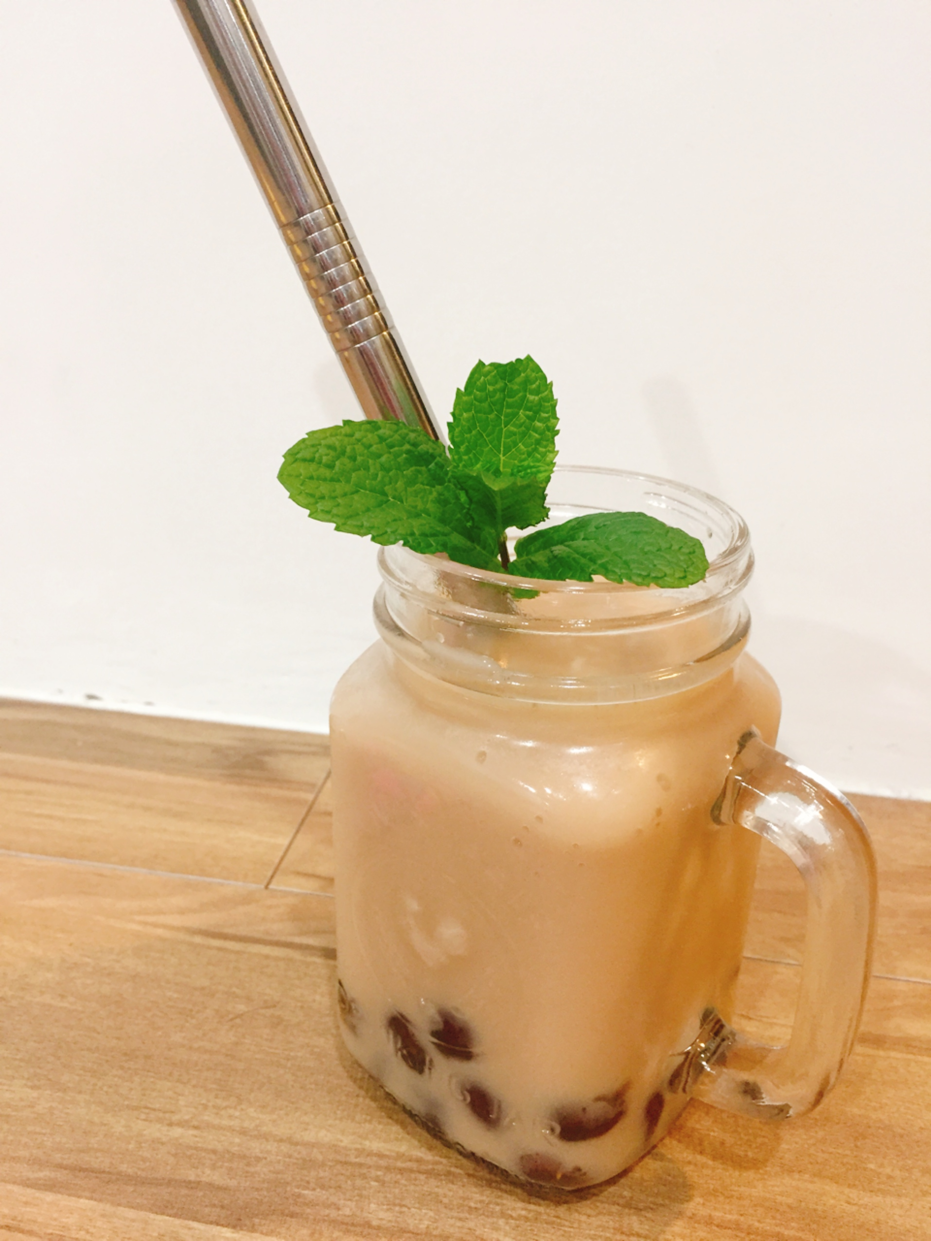 珍珠鮮奶茶做法成品